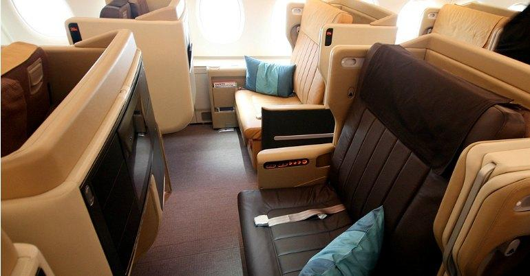 Nuove classi business Singapore Airlines