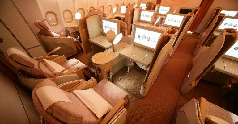 Volare in business class