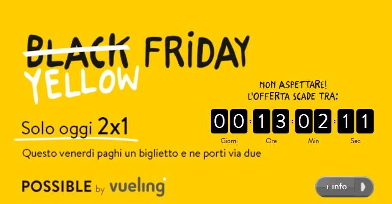 vueling yellow friday